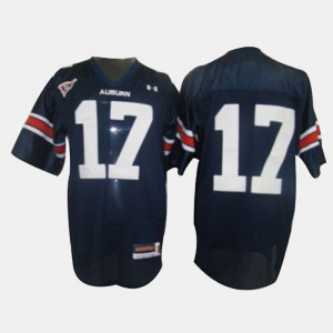 Youth(Kids) #17 Josh Bynes college Jersey - Blue Football Tigers