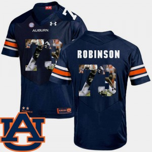 Men Football AU #73 Pictorial Fashion Greg Robinson college Jersey - Navy