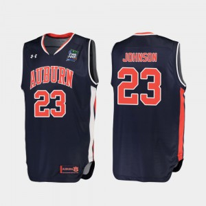Men Auburn #23 2019 Final-Four Replica Jamal Johnson college Jersey - Navy