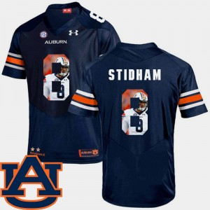 Men Pictorial Fashion Football Auburn Tigers #8 Jarrett Stidham college Jersey - Navy