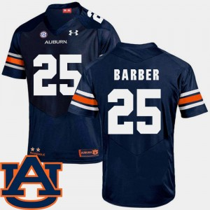 Mens SEC Patch Replica Tigers Football #25 Peyton Barber college Jersey - Navy